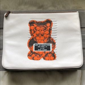 Coach Gummy Bear Leather Pouch